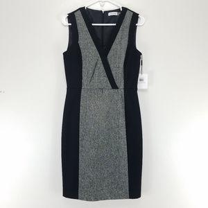 Calvin Klein Sheath Dress Sleeveless